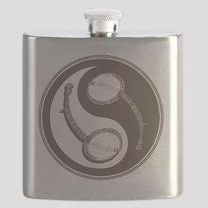 banjo-yang-brn-T Flask