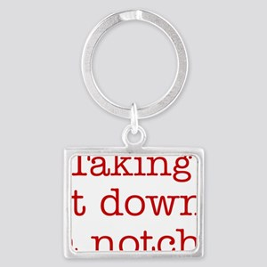 takingitdown Landscape Keychain