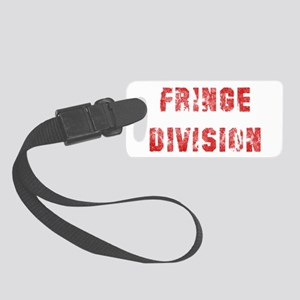 Red Fringe Division Small Luggage Tag