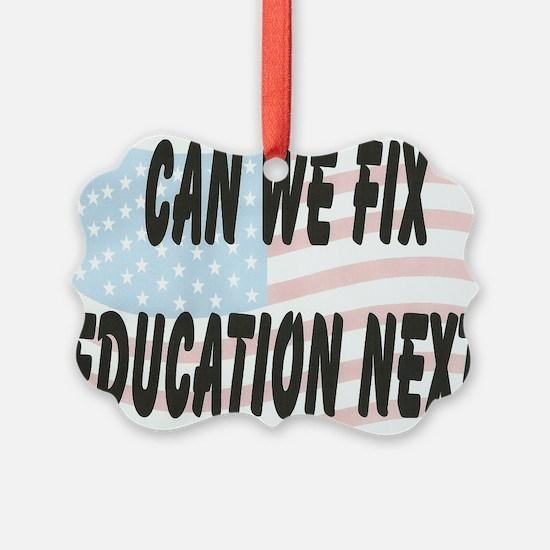 FIX EDUCATION Ornament