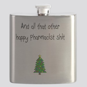 Pharmacist Shit Flask