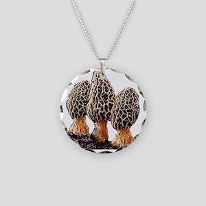 paintedmorels Necklace Circle Charm