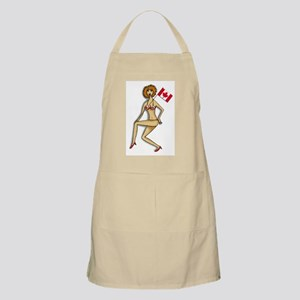 Canadian Babe BBQ Apron