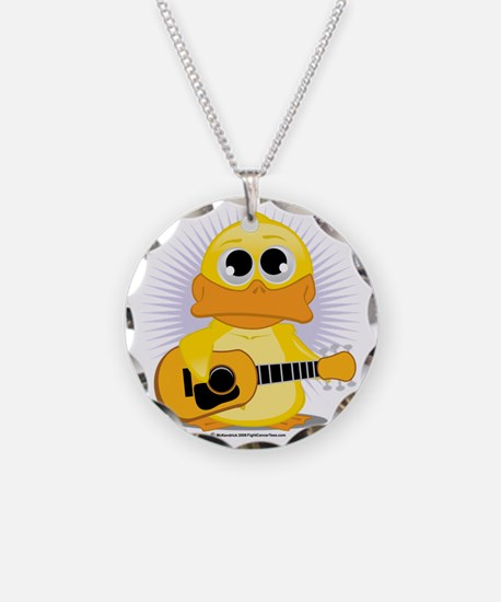 Guitar-Duck Necklace