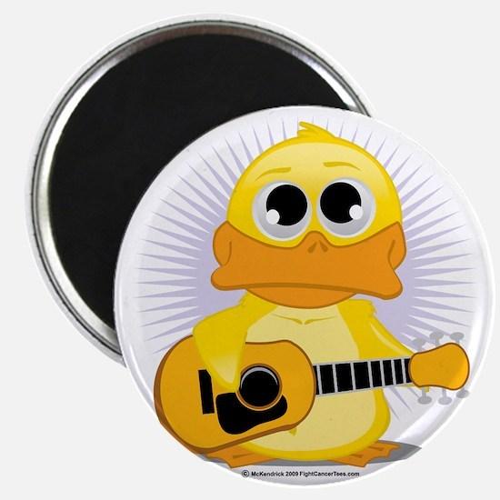 Guitar-Duck Magnet