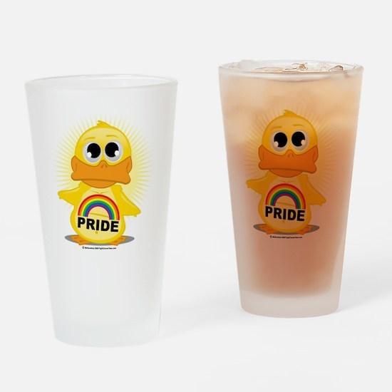 Rainbow-Duck Drinking Glass