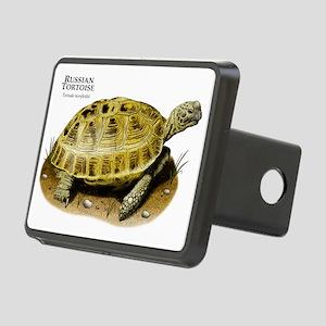 Russian Tortoise Rectangular Hitch Cover