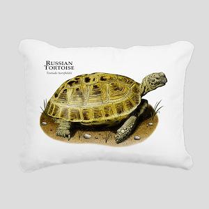 Russian Tortoise Rectangular Canvas Pillow