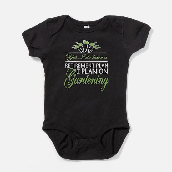 I Plan On Gardening T Shirt Body Suit