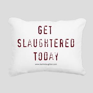 getslaughtered Rectangular Canvas Pillow