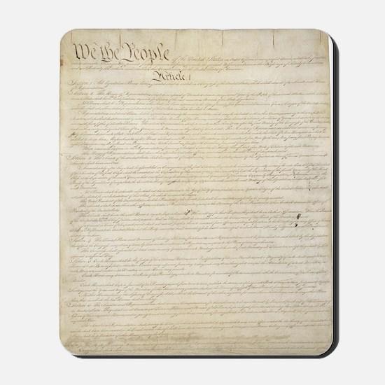 Constitution Mousepad