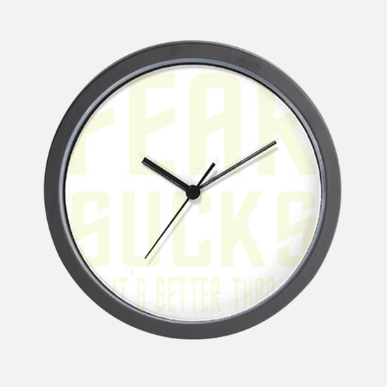 2-antiteapartyb Wall Clock
