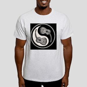 guitar-yang-2-bw-CRD Light T-Shirt
