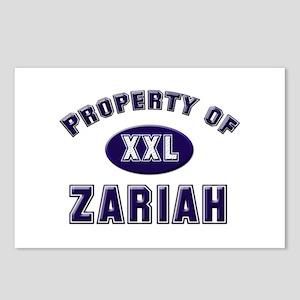 My heart belongs to zariah Postcards (Package of 8