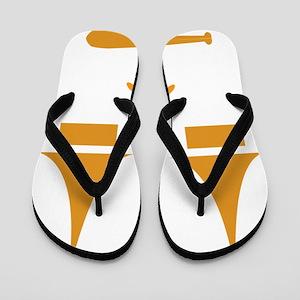 Ghoulsville Flip Flops
