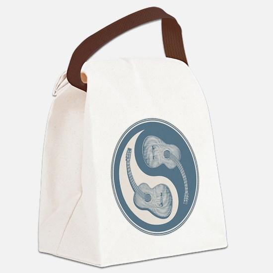 guitar-yang-2-blu-T Canvas Lunch Bag