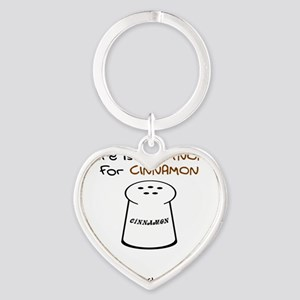 There is No Synonym Heart Keychain