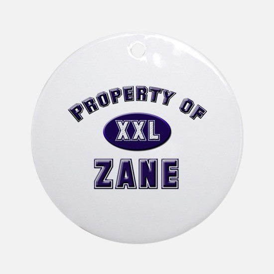 My heart belongs to zane Ornament (Round)