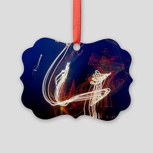 norse ship Picture Ornament