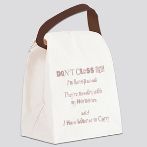 dont cross me Canvas Lunch Bag