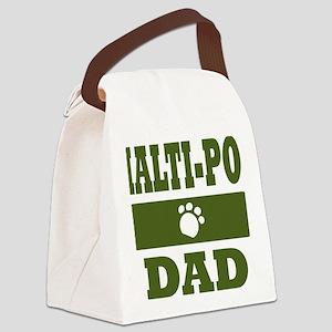 Malti-Poo Dad Canvas Lunch Bag
