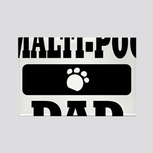 MALTI-POO DAD Rectangle Magnet