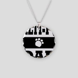 MALTI-POO DAD Necklace Circle Charm