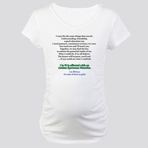 if u could see quote Maternity T-Shirt