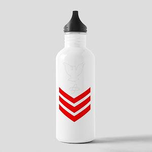 USCG-Rank-ET1- Stainless Water Bottle 1.0L