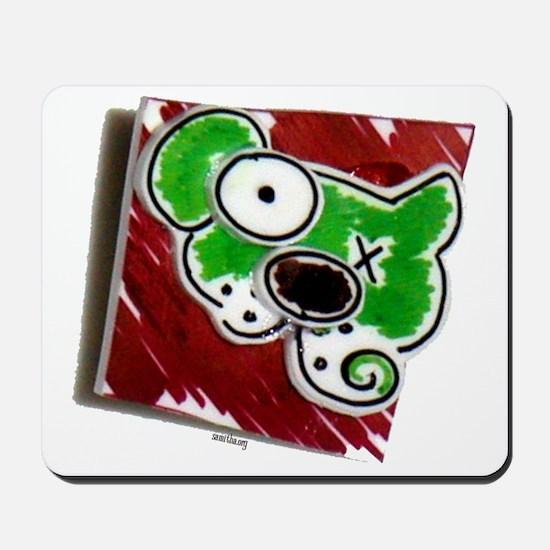 dogpin 2 Mousepad