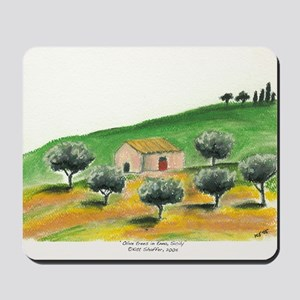 IMG_0054-olive trees in Enna center Mousepad