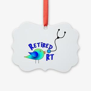 Retired Respiratory Therapist Picture Ornament