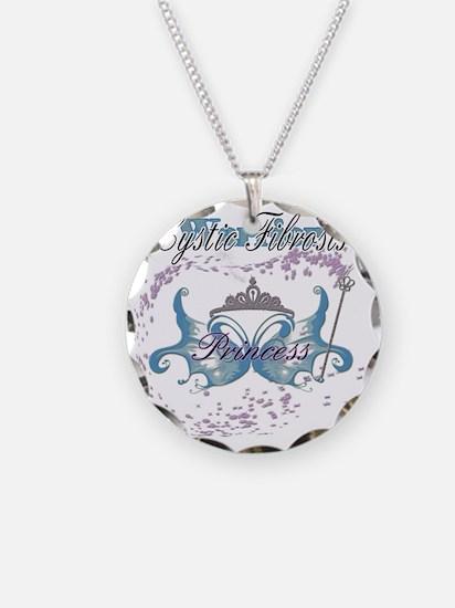 Cystic Fibrosis Princess War Necklace