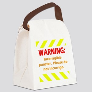 Incorrigible for black Canvas Lunch Bag