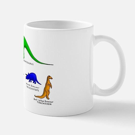 Colored Dinos Mug