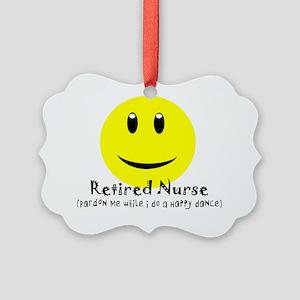 Retired Nurse Picture Ornament