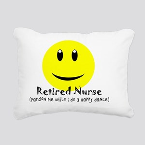 Retired Nurse Rectangular Canvas Pillow