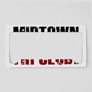 mtc_sticker License Plate Holder
