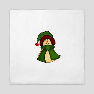 Christmas Snowman Queen Duvet