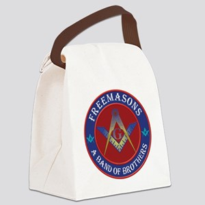 Freemason Brothers Canvas Lunch Bag