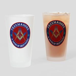 Freemason Brothers Drinking Glass