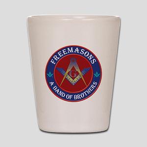 Freemason Brothers Shot Glass