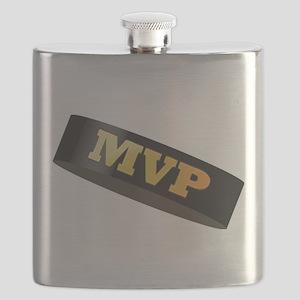 Hockey Puck MVP Flask