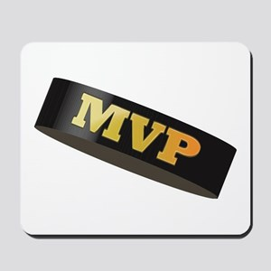 Hockey Puck MVP Mousepad