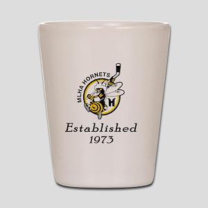 Established 1973 Shot Glass
