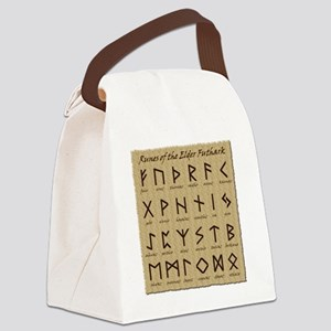 All-Runes-flat_10x10 Canvas Lunch Bag