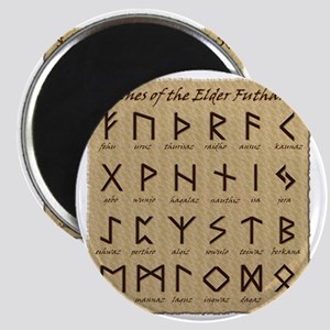 All-Runes-flat_10x10 Magnet