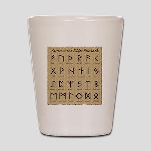 All-Runes-flat_10x10 Shot Glass
