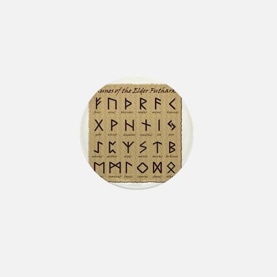 All-Runes-flat_10x10 Mini Button
