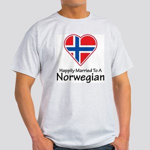 Happily Married Norwegian Ash Grey T-Shirt